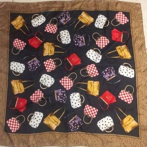 Echo purse scarf all women desire 💯 silk oh la la